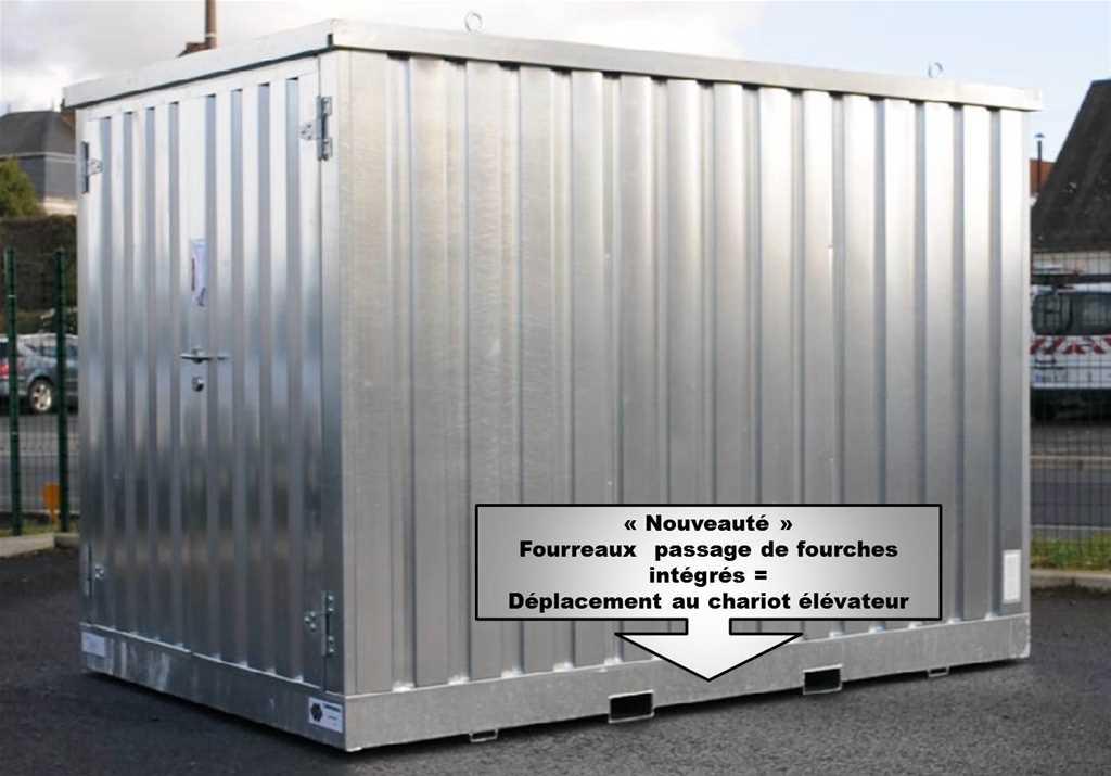 Module de stockage ext rieur 2 ml mdm for Module exterieur